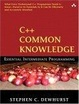 Cover of C++ Common Knowledge