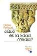 Cover of ¿Qué es la Edad Media?