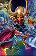 Cover of Thor #7 All New Marvel Now! - Variant Anniversario