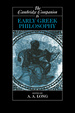 Cover of The Cambridge Companion to Early Greek Philosophy