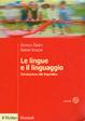 Cover of Le lingue e il linguaggio