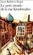 Cover of Le petit monde de la rue Krochmalna