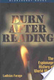 Cover of Burn After Reading
