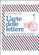 Cover of L'arte delle lettere