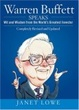 Cover of Warren Buffett Speaks