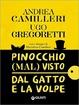 Cover of Pinocchio (mal) visto dal gatto e la volpe