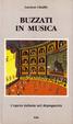 Cover of Buzzati in musica. L'opera italiana nel dopoguerra