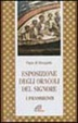 Cover of Esposizione degli oracoli del Signore