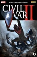 Cover of Civil War II #6