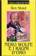 Cover of Nero Wolfe e i ragni d'oro