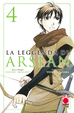 Cover of La leggenda di Arslan vol. 4