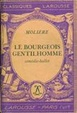 Cover of Le bourgeois gentilhomme