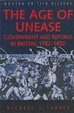 Cover of The Age of Unease