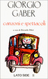 Cover of Giorgio Gaber- Canzoni e spettacoli