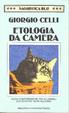 Cover of Etologia da camera