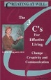 Cover of The 3 C's for Effective Living