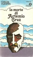 Cover of La morte di Artemio Cruz