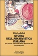 Cover of Storia dell'archivistica italiana