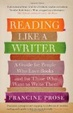 Cover of Reading Like a Writer