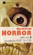 Cover of Relatos de horror, 2