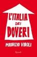 Cover of L' Italia dei doveri