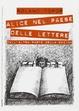 Cover of Alice nel paese delle lettere