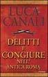 Cover of Delitti e congiure nell'antica Roma