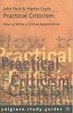 Cover of Practical Criticism