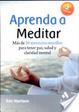 Cover of Aprenda a Meditar