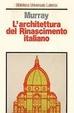 Cover of L'architettura del Rinascimento italiano