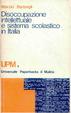 Cover of Disoccupazione intellettuale e sistema scolastico in Italia