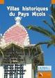 Cover of Villas historiques du pays niçois