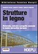 Cover of Strutture in legno