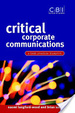 Cover of Critical corporate communications