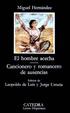 Cover of El hombre acecha, Cancionero y romancero de ausencias