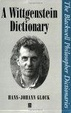 Cover of A Wittgenstein Dictionary