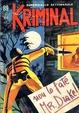 Cover of Kriminal n. 89