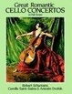 Cover of Great Romantic Cello Concertos in Full Score