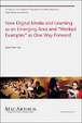 Cover of New Digital Media and Learning as an Emerging Area and