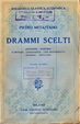Cover of Drammi scelti. Vol. 2
