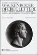 Cover of Opere e lettere