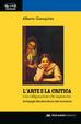 Cover of L'arte e la critica