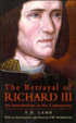 Cover of The betrayal of Richard III