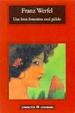 Cover of UNA LETRA FEMENINA AZUL PALIDO