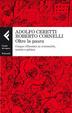 Cover of Oltre la paura. Cinque riflessioni su criminalità, società e politica