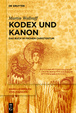 Cover of Kodex Und Kanon