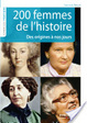 Cover of 200 femmes de l'histoire