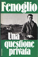 Cover of Una questione privata