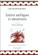 Cover of Lettres satiriques et amoureuses ;