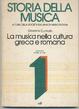 Cover of Storia della musica